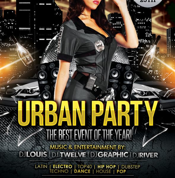 Party Flyer Templates Free | Best Business Template