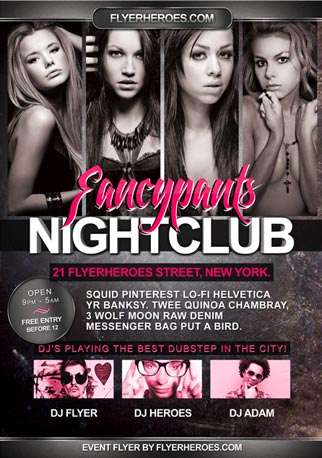 Free Fancypants Flyer Template free and premium club party flyer templates for free download print ready free psd flyer templates for free download