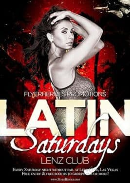 Free Latin Night Flyer Template - free and premium club party flyer templates for free download print ready free psd flyer templates for free download