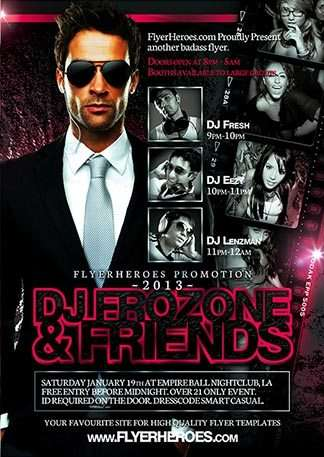 free and premium club party flyer templates for free download print ready free psd flyer templates for free download