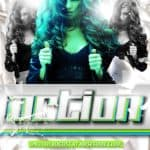 Free Action Club PSD Flyer Template