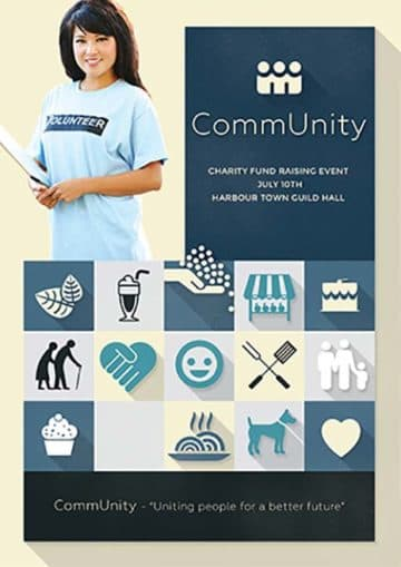 CommUnity Free Flyer Template