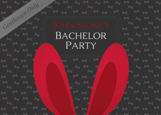 Free Bachelor Party Invitation PSD Flyer Template