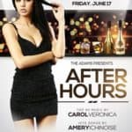After Hours Party Nightclub Free PSD Flyer Template