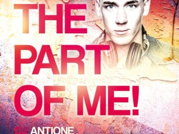 Part of Me Club Free PSD Flyer Template