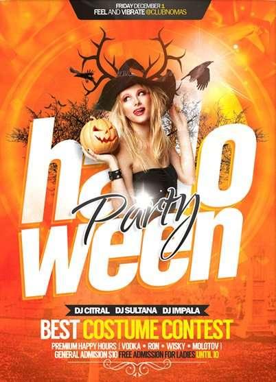 Free Flyer: Halloween Celebration Flyer