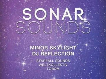 Free Flyer: Sonar Sound Minimal Electro Template