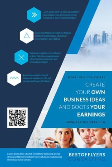 Free Multipurpose Corporate Flyer Template