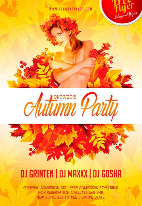 free psd flyer templates download .