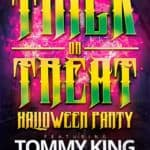 Free Trick or Treat Halloween Flyer Template