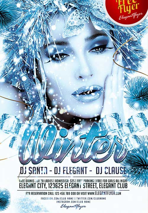 Download free winter party psd flyer template free winter party psd flyer template pronofoot35fo Gallery