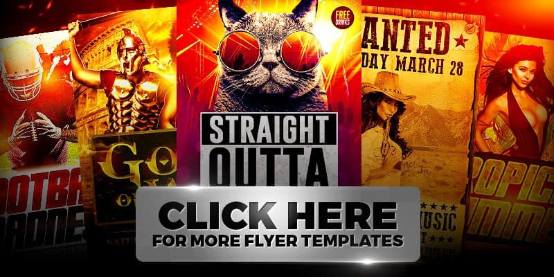 Download more flyer templates designed by Xtremeflyers