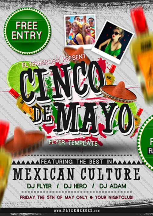 Home    Free Party Flyer    Cinco de Mayo Free PSD Flyer Template Qga0O7uU
