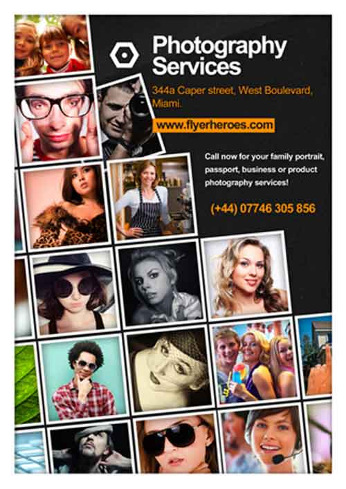 Freepsdflyer Dowload Photography Free Flyer Template