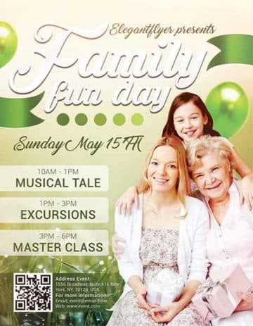 Download Family Fun Day Free Flyer Template