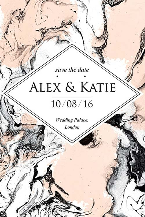 Wedding Invitation Free Flyer Template