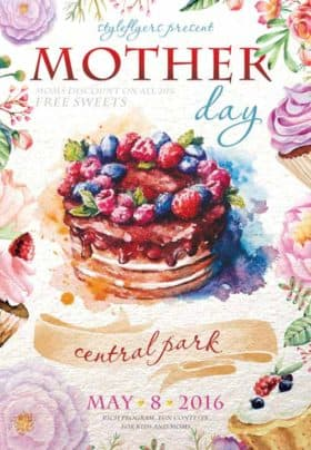Mother Day Free Flyer Template