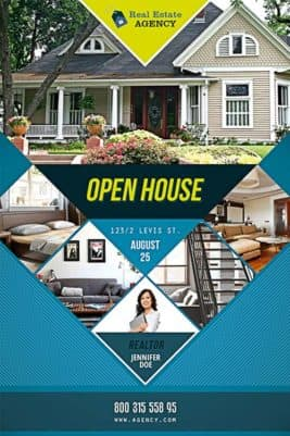 Free Open House Flyer Template