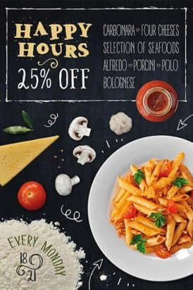 Pasta Restaurant Free Flyer Template