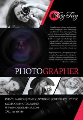 Photographer Free Flyer Template