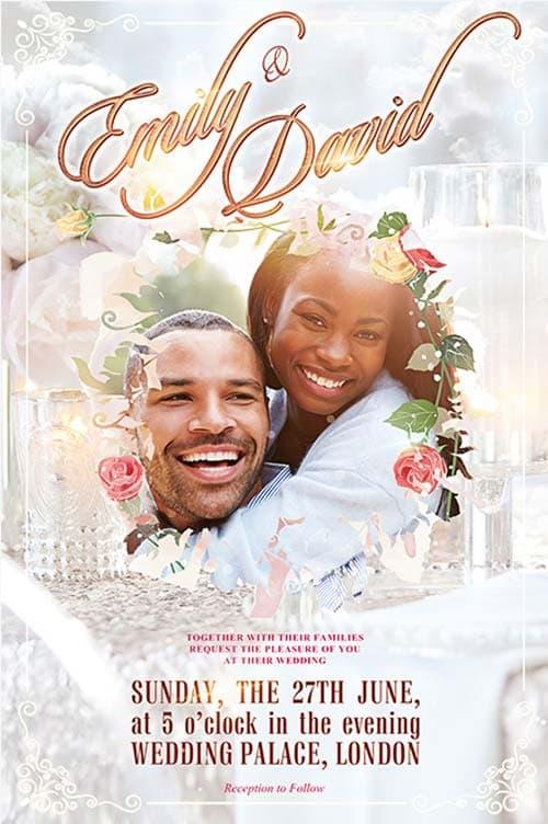 Marriage flyer templates ncsquad. Com.