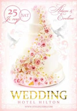 Wedding Free Flyer Template