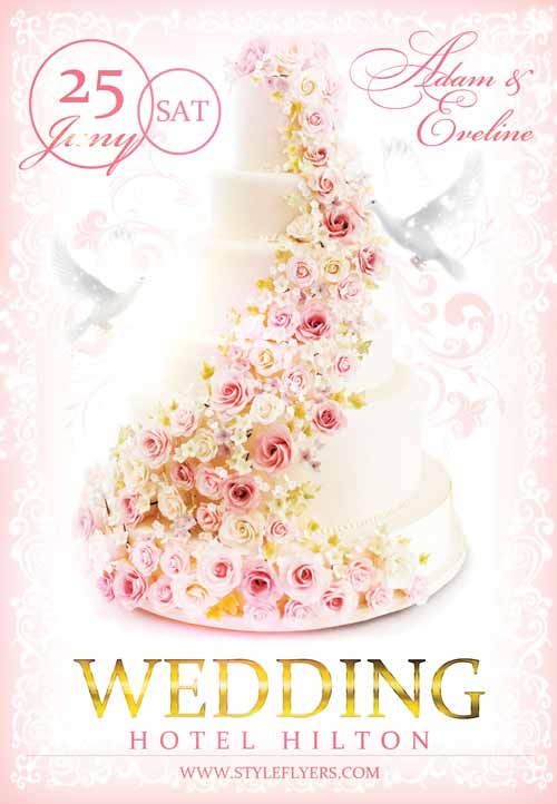 Freepsdflyer Download The Wedding Free Flyer Template