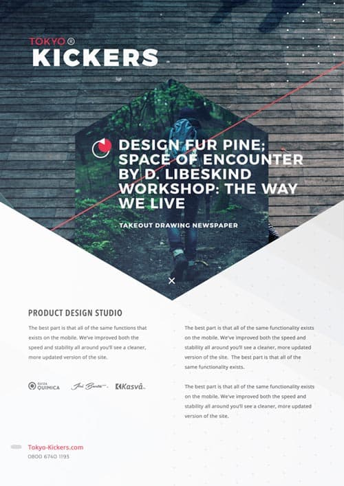 Creative Agency Poster Free Flyer Template