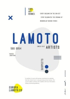 Lamoto Promotional Poster Free Flyer Template