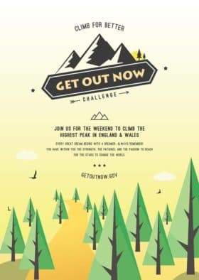 Outdoor Event Poster Free Flyer Template