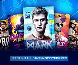 download the best electro edm techno trance dance dj flyer templates for photoshop - Awesomeflyer.com