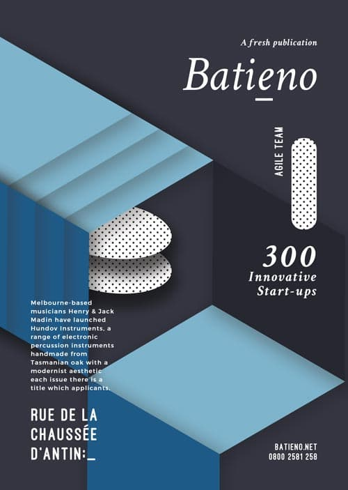 Batieno Publication Poster Free Flyer Template