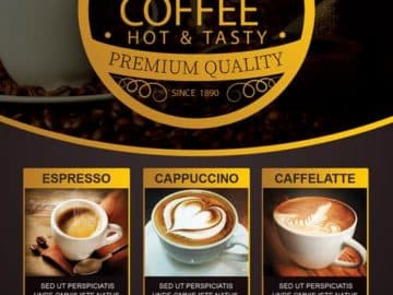 Coffee Special Promotion Flyer Template