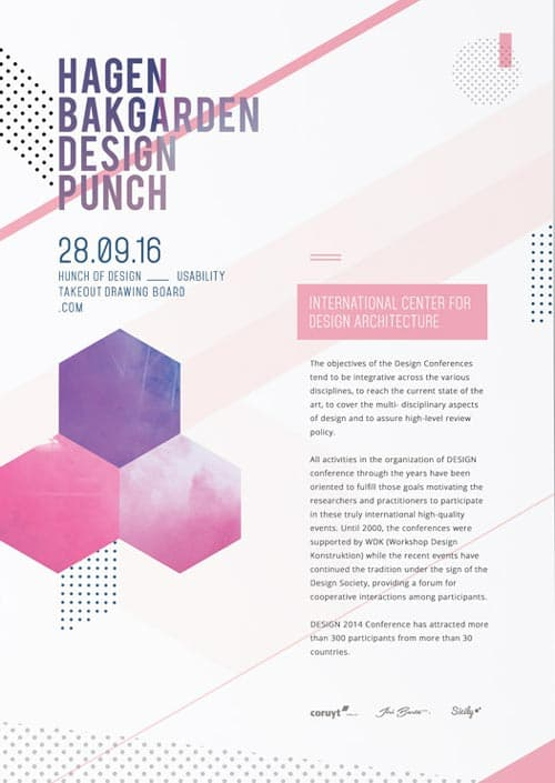 Design agency corporate poster free flyer template for photoshop pronofoot35fo Images