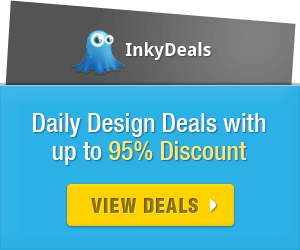 InkyDeals: Daily Design Deals with up to 95% Discount!