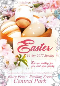 Easter Free Flyer Template