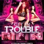 Get In Trouble Free Flyer Template