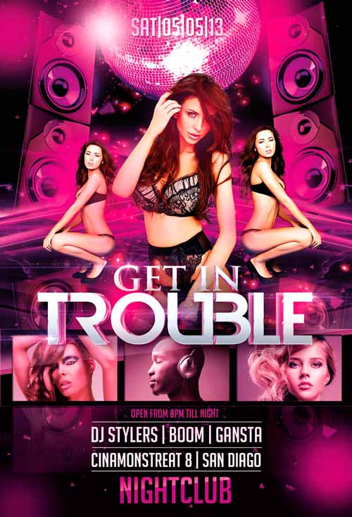 Download the best Free DJ Flyer PSD Templates for Photoshop