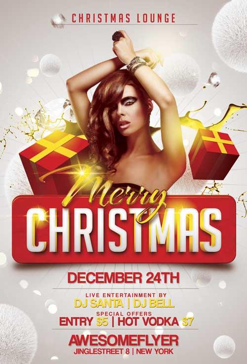 free christmas flyers templates