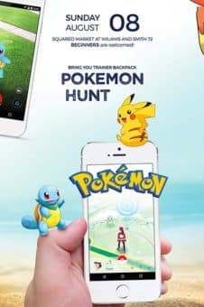 Pokemon Go Free Flyer Template - Download for Photoshop