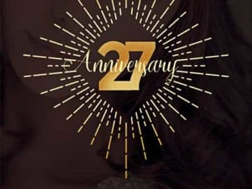 Anniversary Party Free Flyer Template