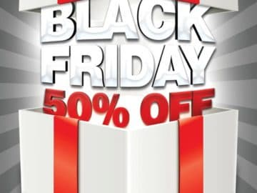 Black Friday Free Flyer Template