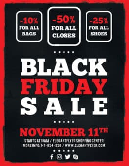 Free Black Friday Sale Flyer Template