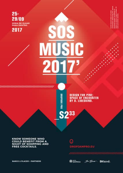 SOS Music Festival Free Flyer Template