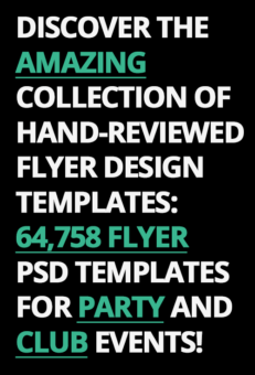 Discover the Amazing collection of hand-reviewed Flyer Design Templates: 64758+ Flyer PSD Templates for Party and Club Events!