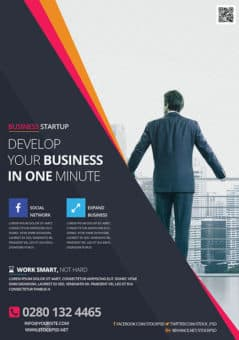 Business Development Free Flyer Template
