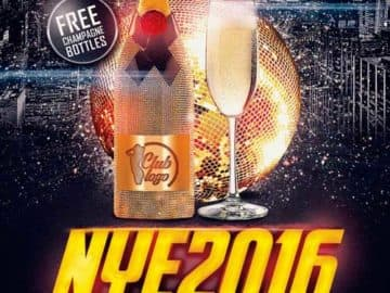 New Years Eve Free Flyer Template