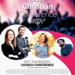 Christian Conference Church PSD Flyer Template