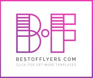 Bestofflyers.com Banner - Download free and premium flyer templates