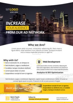 Corporate Business Free Flyer Template